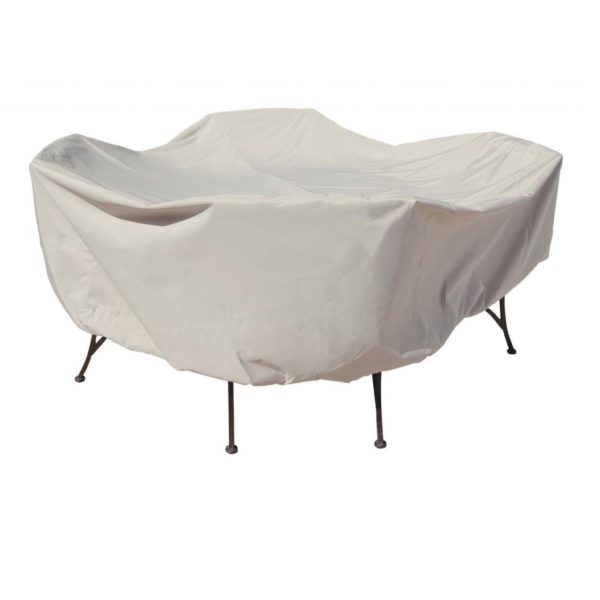"""Treasure Garden Protective Patio Furniture Cover CP551 48"""" Round Table & Chairs"""