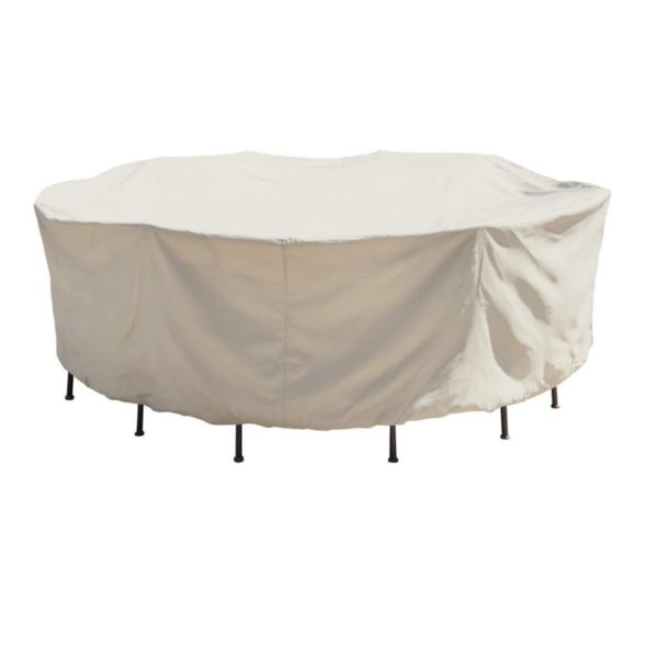 "Treasure Garden Protective Patio Furniture Cover CP571 54"" Round Table & Chairs"