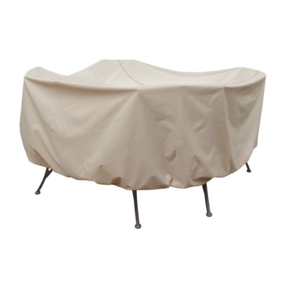 "Treasure Garden Protective Patio Furniture Cover CP572 54"" Round Table & Chairs"