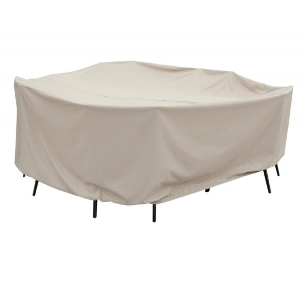 "Treasure Garden Protective Patio Furniture Cover CP590 60"" Round Table & Chairs"