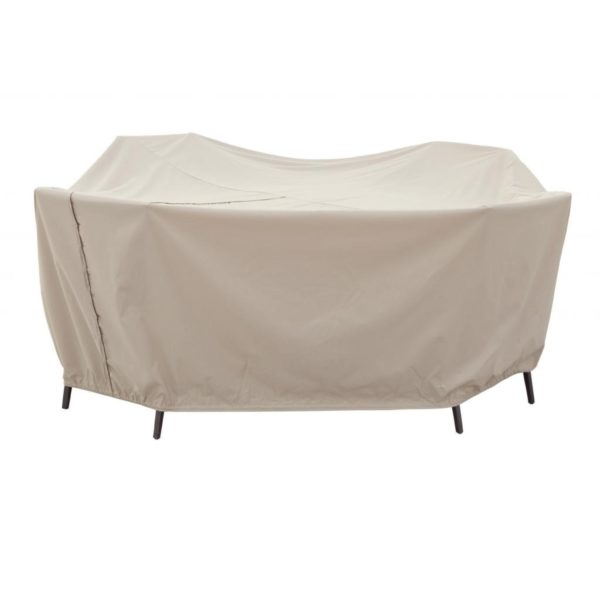 """Treasure Garden Protective Patio Furniture Cover CP591 60"""" Round Table & Chairs"""