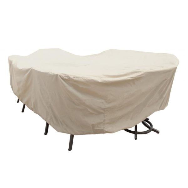 Treasure Garden Protective Furniture Cover CP699 X-Large Oval/Rectangle Table & Chairs