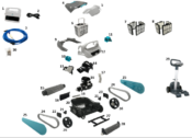 Parts Diagram - Maytronics Active 30 and 30i