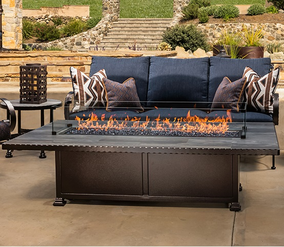 O.W. Lee Outdoor Firepit Collection - Casual Fireside