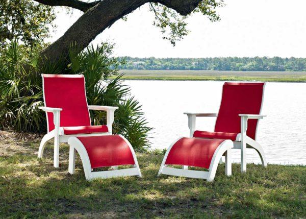 Telescope Adirondack MGP Sling Outdoor Patio Furniture Collection