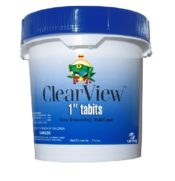 Clear View 5 lb Small Chlorine Tablets