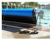 SR Smith UNA Integrated Automatic Re-winder for Thermal Pool Covers