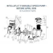 Intelliflo i1 Variable Speed Pump - Before April 2016