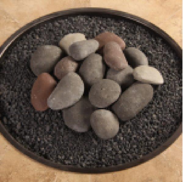OW Lee Hi-Heat Ceramic Rock Kit with Lava Granules