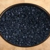 OW Lee Black Crushed Fire Glass 6 lbs