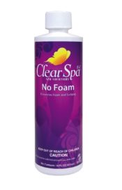 Clear Spa 16 oz No Foam Defoamer