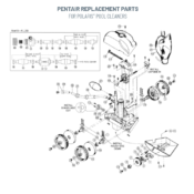 Pentair Replacement Parts for Polaris Cleaners