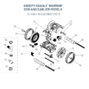 Kreepy Krauly Warrior 2018 and Earlier Models