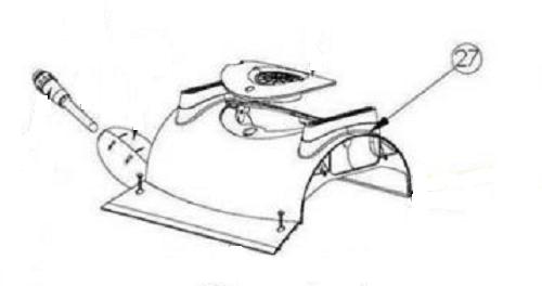 Pentair Kreepy Krauly Prowler 820 - 360138 Outer Casing