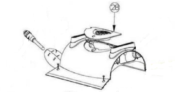 Pentair Kreepy Krauly Prowler 820 - 360139 Impeller Cover