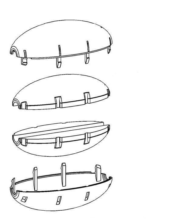 Pentair Kreepy Krauly Prowler 820 - 360081 Float Assembly