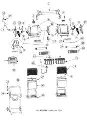 Parts Diagram - Maytronics Dolphin 2x2 Gyro