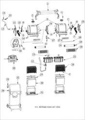 Parts Diagram - Maytronics 2x2 C6 Plus