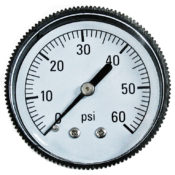 Pressure Gauge - Back Mount