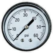 Pressure Gauge - Back Mount