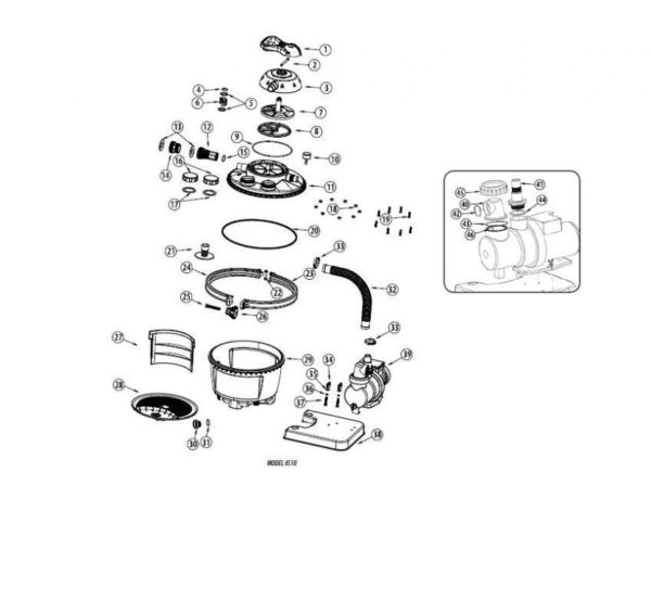 Parts Diagram - 4510 SandPro 50