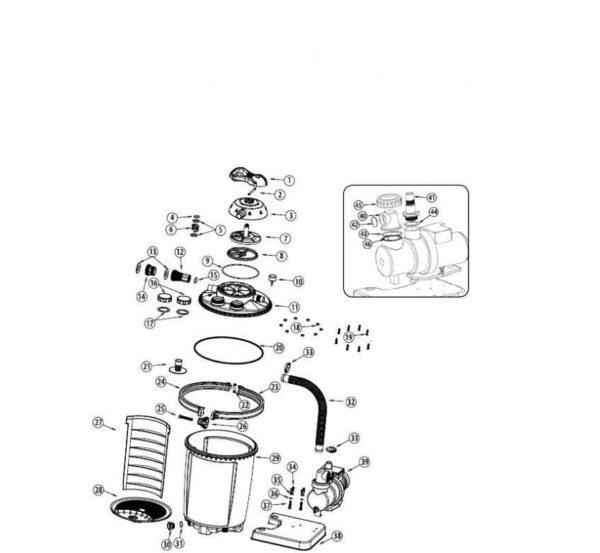 Parts Diagram - 4511 SandPro 75