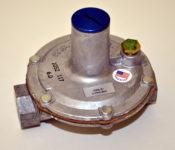 Gas Regulator for NG or LP Gas Grills, Firepits or Fireplaces150,000 BTU Pressure Regulator