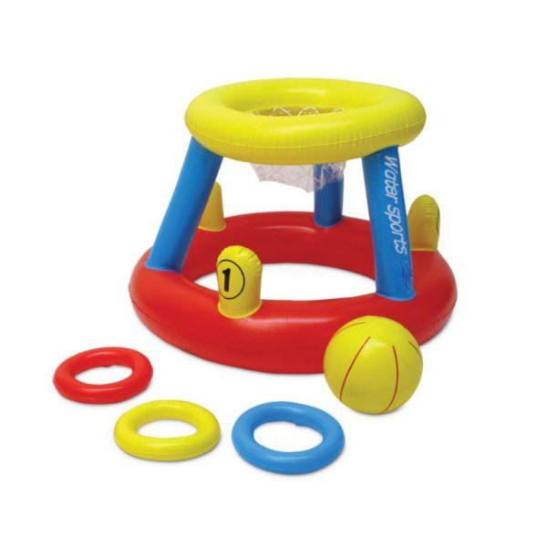 Poolmaster 86189 Water Basketball & Ring Toss Game