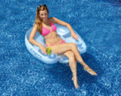 Swimline 90414 Inflatable Floating Capri Lounge Chair