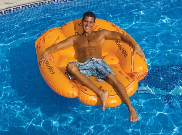 Swimline 90844 Giant Inflatable Floating Baseball Glove Air Mattress