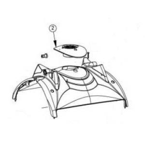 Maytronics Dolphin 9982346 Impeller Cover