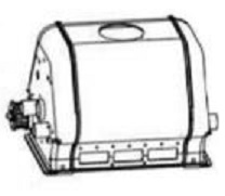 Maytronics Dolphin 99951812 Outer Casing