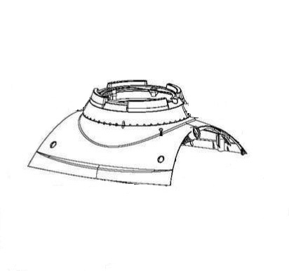 Maytronics Dolphin 99952092-ASSY Outer Casing