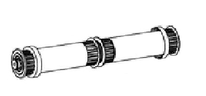 Maytronics Dolphin 9995591 Wheel Tube Assembly