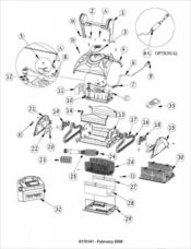 Parts Diagram - Maytronics Dolphin DX4