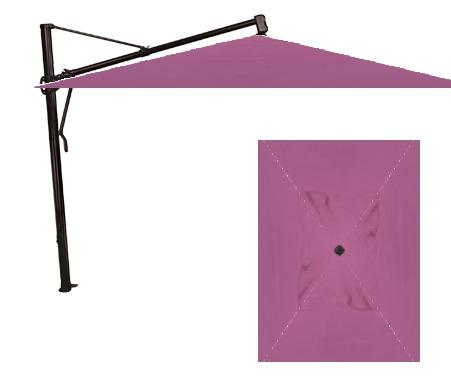 Treasure Garden 10' x 13' AKZRT Cantilever Umbrella