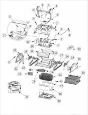 Parts Diagram - Maytronics Dolphin Apollo Plus
