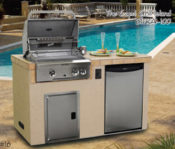 "62"" Capri Complete Outdoor Kitchen - No One Beats Our Price!"