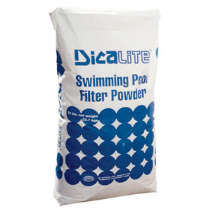 Diatomaceous Earth D.E. - Swimming Pool Filter Media - 25 lbs