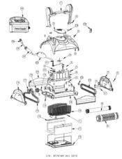 Parts Diagram - Maytronics Dolphin DX4