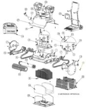 Parts Diagram - Maytronics Dolphin Discovery 99996349