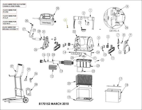 Parts Diagram - Maytronics Enduro 11R