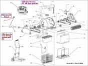 Parts Diagram - Maytronics Dolphin Heavy Duty - Grey