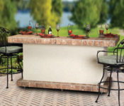 "84"" Long Beach Bar - Part of the Component Series - No One Beats Our Price!"