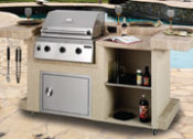 "92"" Long Beach Complete Outdoor Kitchen - No One Beats Our Price!"