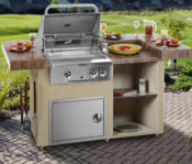 "84"" Long Beach Complete Outdoor Kitchen - No One Beats Our Price!"