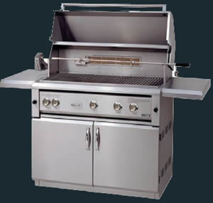 """42"""" LUXOR Outdoor Gas Grill Built-In or Freestanding - LP or NG"""