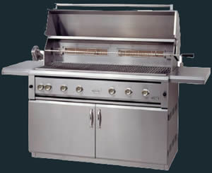 """54"""" LUXOR Outdoor Gas Grill Built-In or Freestanding - LP or NG"""