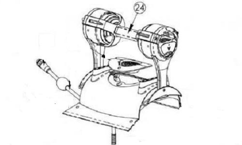Maytronics Dolphin 99957078-ASSY Handle Assembly