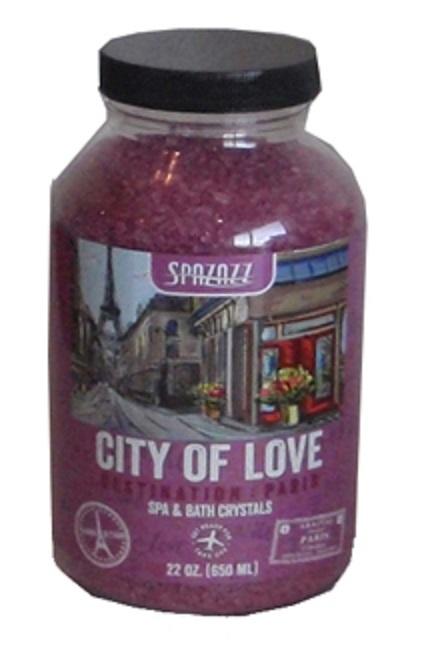 Spazazz Spa Hot Tub Bath Fragrance 22 oz - City of Love